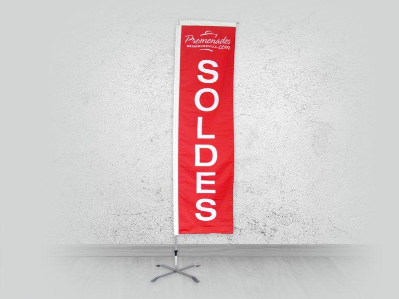 grand Drapeau beach flag pour les soldes