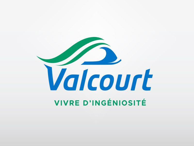voici le design qui a été accepter par la municipalité de valcourt