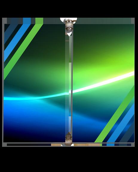 benniere de rue de type oriflame souvant utilité sur les poteaux et lampadaire