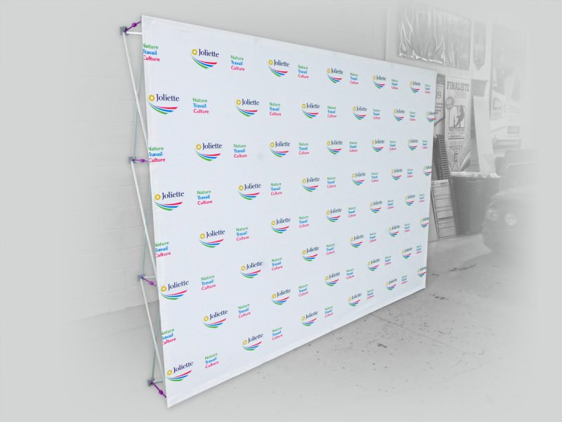 un Backwall Stand-up pour vos photo booth