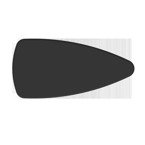 tablette de dessus de comptoir d'exposition du flex-1