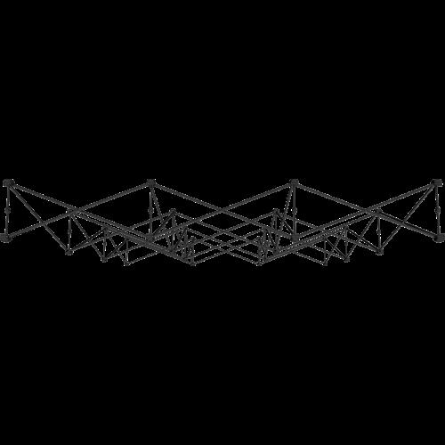 vue du dessus de la structure x-claim