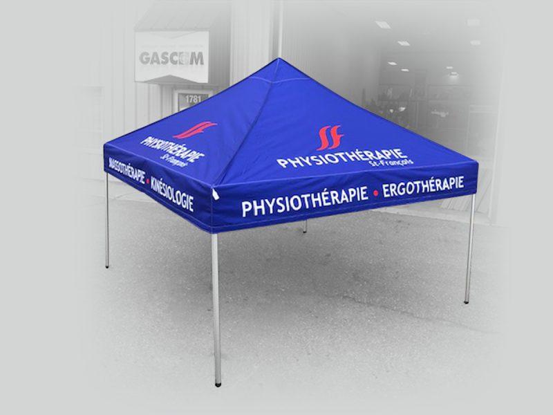 voici une Tente canopy promotionnelle de haute qualité