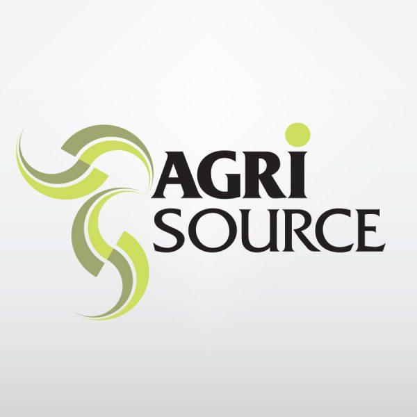 visuel d'un logo retenu par notre clien agrisource