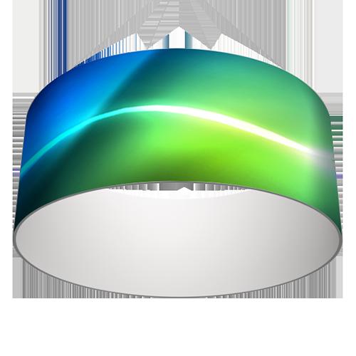 et voici notre modele de structure suspendue en forme anneau