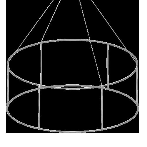 squelettre de notre structure d'anneau suspendu