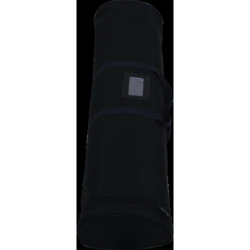 sac avec fermeture éclaire utilisé pour les roll-up