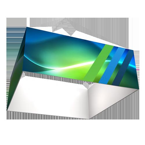 notre modele de structure suspendue en forme de carré